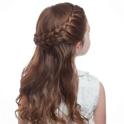 hairstyle do to crown breakage flower girl hair how to braid crown step 4 0515 jpg kids