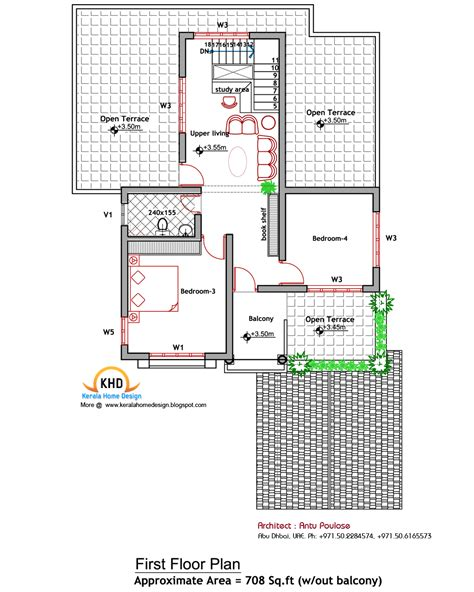 50 sq m to sq ft house plan and elevation 2000 sq ft kerala home