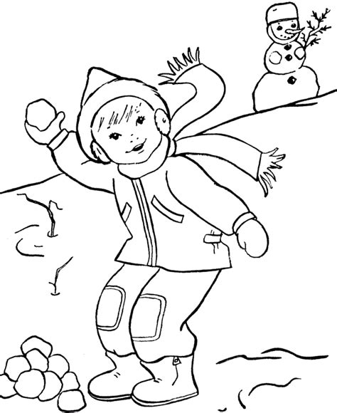 Free Printable Winter Coloring Pages For Kids Winter Coloring Pages