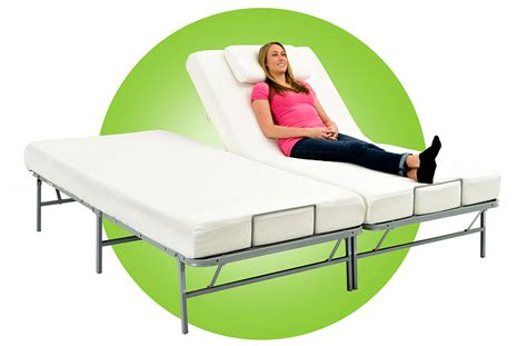 pragma bed light weight adjustable metal bed frame