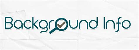 background information background information background check all