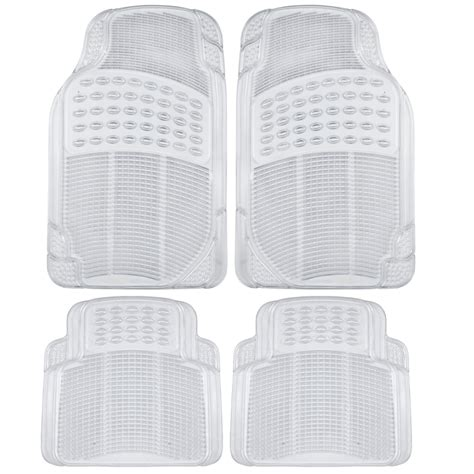 Clear Rubber Mats by Car Floor Mats For All Weather Semi Custom Fit Heavy Duty