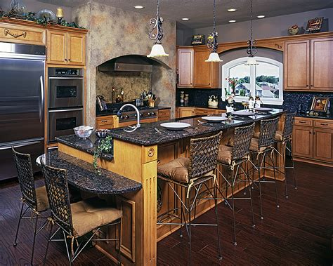 how high is a kitchen island high low kitchen island signature services