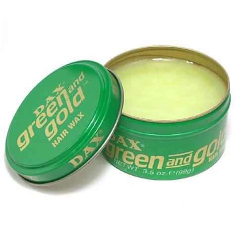 Pomade Dax Green And Gold dax green gold hair wax