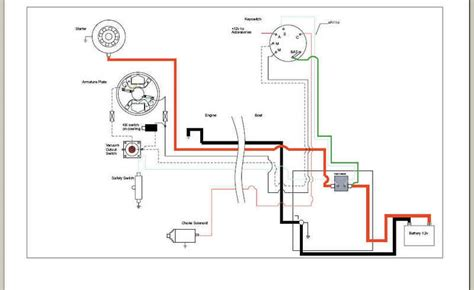 yamaha outboard ignition switch wiring diagram f250
