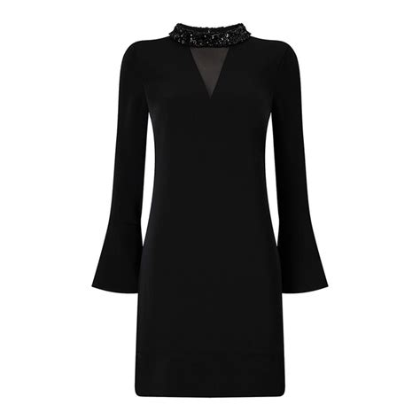 Amelia Brucade Longdress phase eight black dress dressed for less