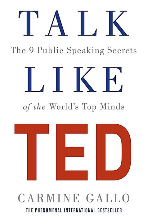 libro talk like ted the talk like ted buch von carmine gallo bei weltbild ch bestellen