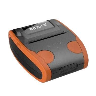 Printer Bluetooth Kozure jual kozure thermal portable printer harga kualitas terjamin blibli