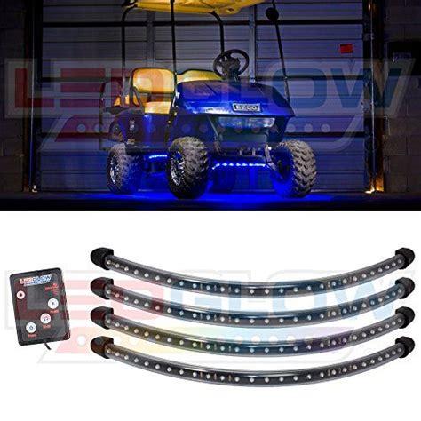 golf cart underbody lights blue led golf cart underbody underglow light kit awesome