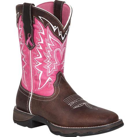 pink boots durango pink ribbon western boots qc supply