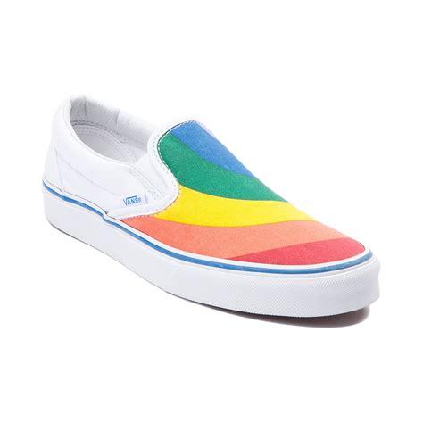 Shoes Rainbow vans slip on rainbow skate shoe multi 497052