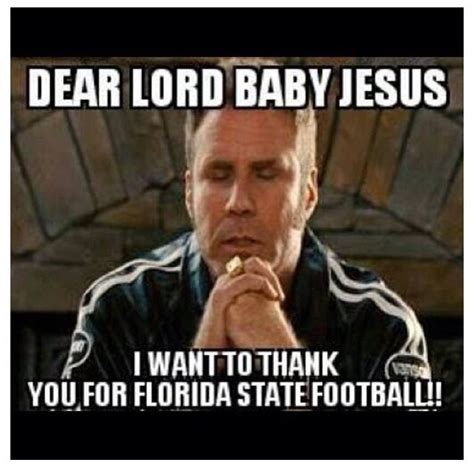 Fsu Memes - thank you sweet baby jesus i heart fsu pinterest