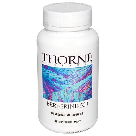 supplement berberine thorne research berberine 500 60 veggie caps iherb