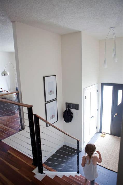split level balusters split level entryway