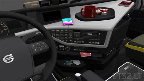 volvo fh parts new volvo fh16 accessories interior v2 ets 2 mods