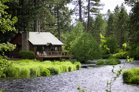 river cabin metolius river c sherman betsy farmer designs