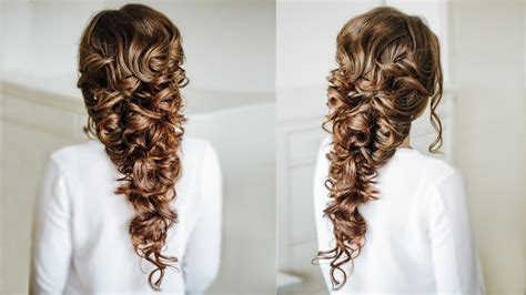 voluminous greek style braid easy hairstyle for long
