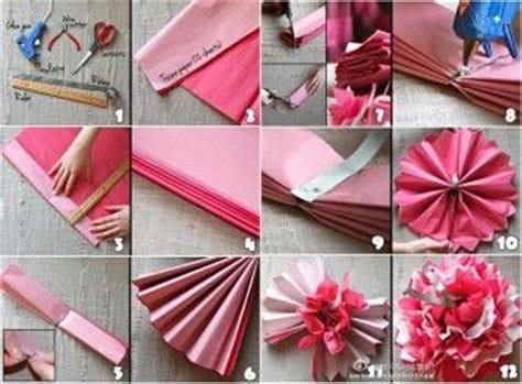 How To Make Easy Tissue Paper Flowers For - paper flowers icreativeideas