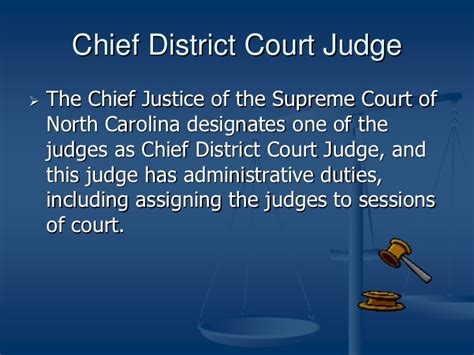 Carolina Administrative Office Of The Courts by Nc Court Structure Youth Civics