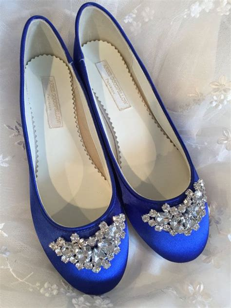 Blue Wedding Shoes Flats by Royal Blue Wedding Shoes Flats Www Imgkid The