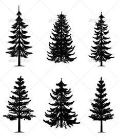 pine tree template free 9 pine tree silhouettes free premium templates