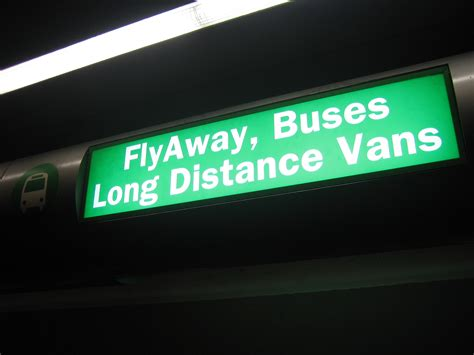 Resolutions At Flyaway Cafe by File Flyaway Sign Lax Jpg Wikimedia Commons