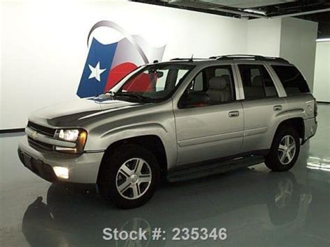 lone chevrolet repair find used 2005 chevy trailblazer heated leather sunroof