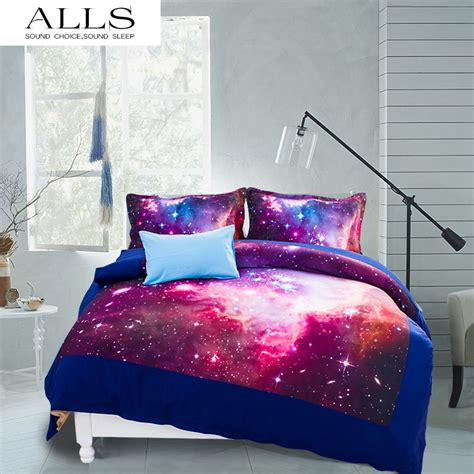 galaxy bedding queen novel gift galaxy bed set colorful moon and stars gorgeous