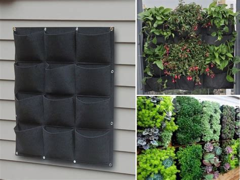 how to make a living wall garden 25 best ideas about garden wall planter on