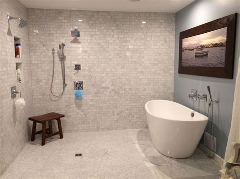freestanding bathtub with shower contemporary master bathroom with freestanding bathtub by