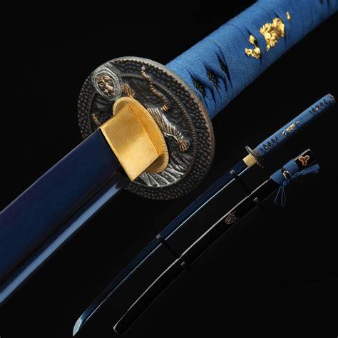 Japanese Handmade Katana - fully handmade japanese samurai katana tang battle
