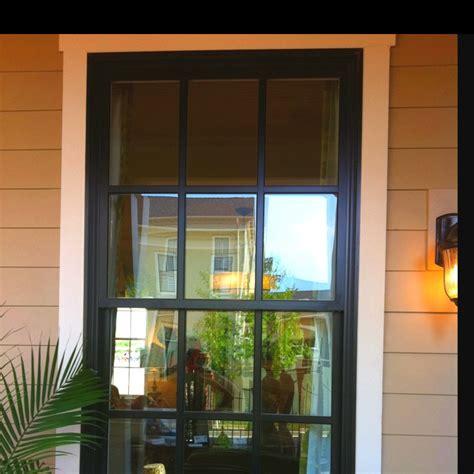 the black exterior windows homey things - Black Exterior Windows