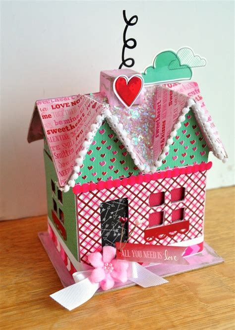 all paper crafts diy s day paper mache house mod podge rocks
