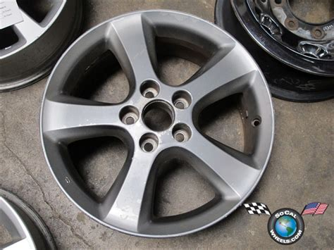 toyota camry factory wheels one 05 06 toyota camry factory 17 oem wheel 69476