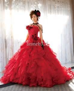 beautiful red wedding dresses very unique and breathtaking