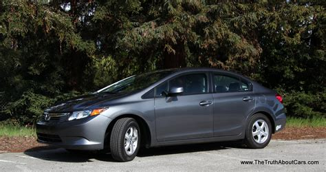 Honda Cng by Review 2012 Honda Civic Gas The About Cars