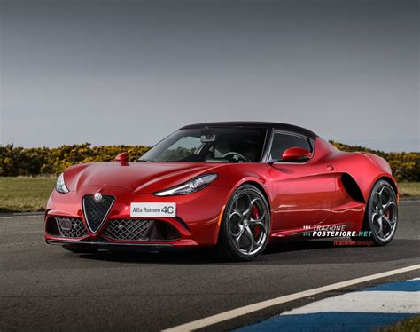 New Alfa Romeo 4c by Alfa Romeo 4c Goes From Bug Eyed To Looking In