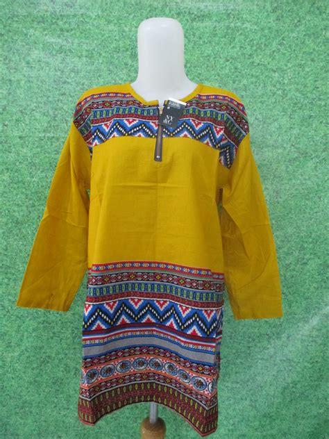 Pusat Grosir Baju Murah Adelwis Dress Katun blouse katun bangkok jumbo pusat grosir baju pakaian