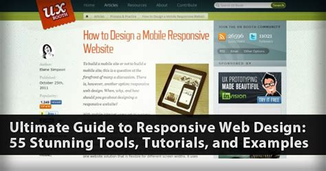 responsive website tutorial and exles 30 tutorials and guides for responsive design