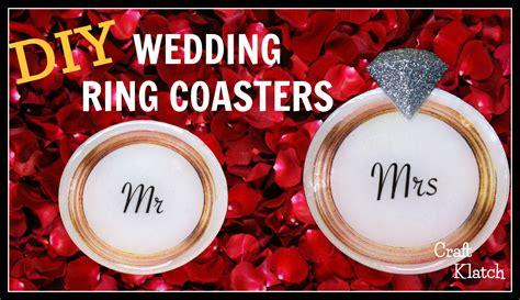 Wedding Souvenir Ring With Photo Coaster Wj44 1 craft klatch 174 wedding ring coasters diy another coaster friday craft klatch