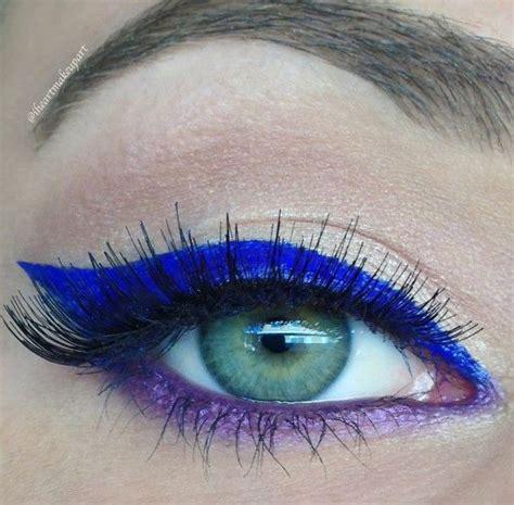 eyeliner tutorial waterline purple eyeliner makeup ideas mugeek vidalondon