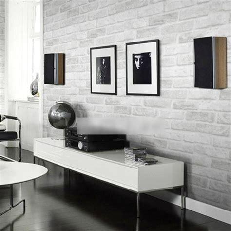 Wallpaper Dinding Warna Hitam Putih | 65 desain wallpaper dinding ruang tamu minimalis terbaru