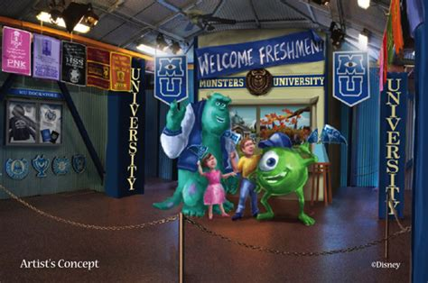 Disney Store City Floor - attend monsters at disney parks this summer