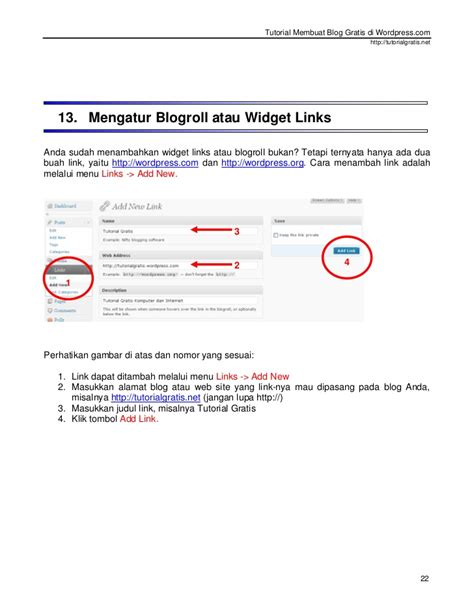 tutorial membuat blogspot gratis tutorial membuat blog gratis di wordpress com baru