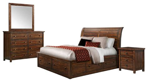 king bedroom set with storage picket house danner king storage 4 piece set bedroom
