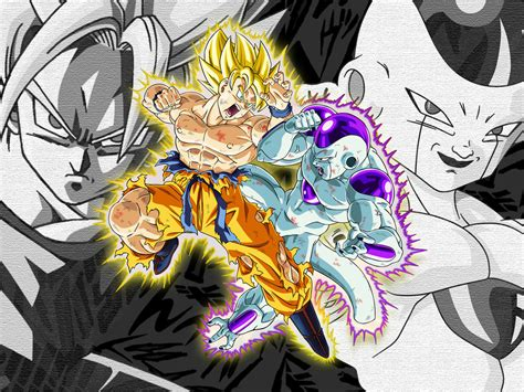 imagenes de goku vs freezer la pelea mas epica goku vs freezer taringa