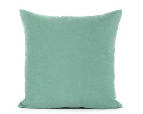 seafoam green pillows seafoam green pillow etsy
