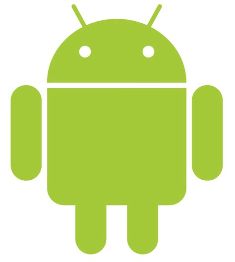 emblem android pin android robots on