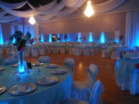 Baby Blue color for wedding at The Crystal Ballroom
