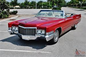 70 Cadillac Convertible Best 70 Cadillac Conv In U S Must Be Seen